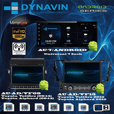 Dynavin Android Series