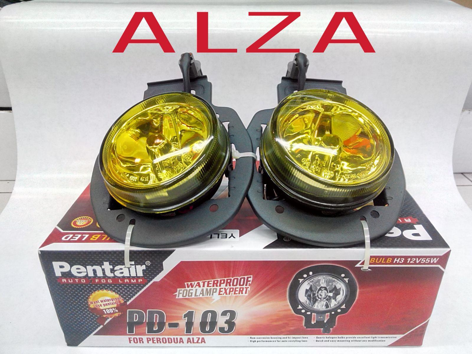 Alza Old fog lamp | Shah Alam Car Accessories